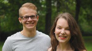 Konstantin Mack und Magdalena Laier auf der Stadtratsliste der Würzburger Grünen
