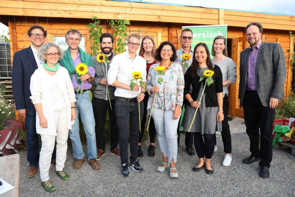 Gründung des grünen Ortsverbands Frauenland in Würzburg