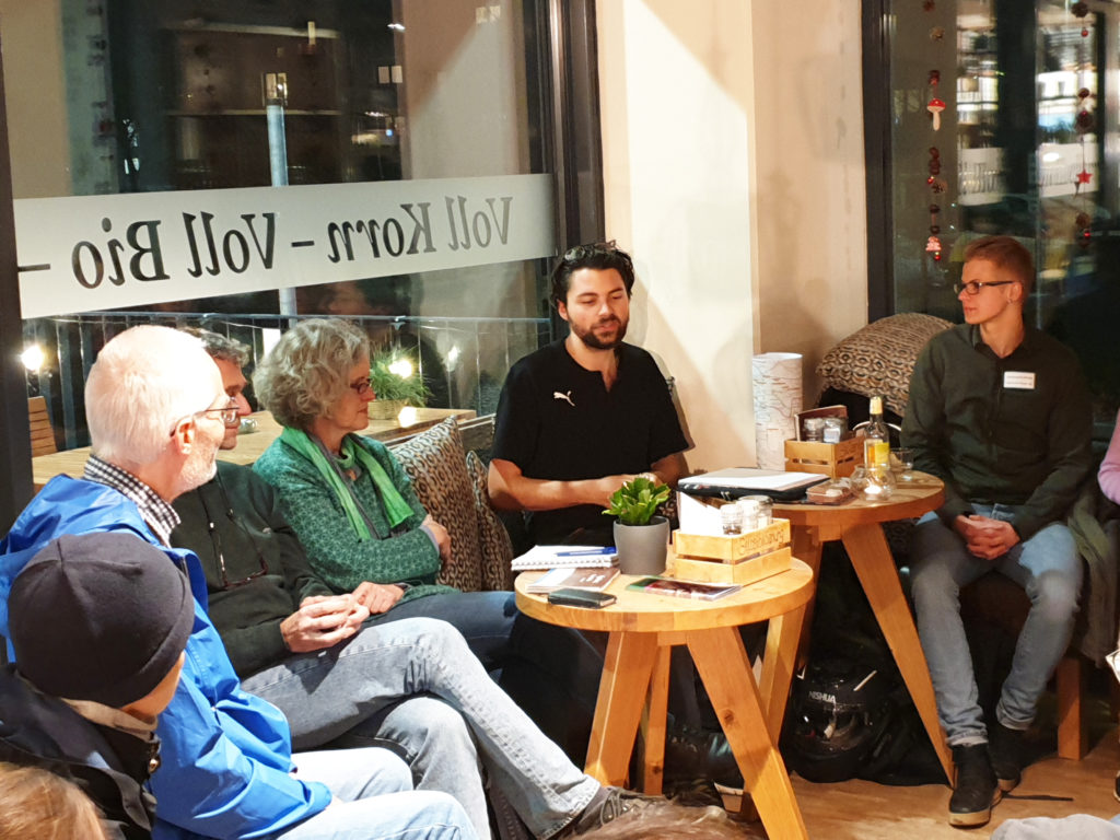 """Veranstaltung """"Hubland in Bewegung"""" am 11.12.2019, Thema: ÖPNV"""